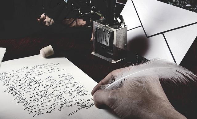 psaní postaru