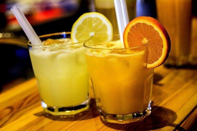 citrusové drinky