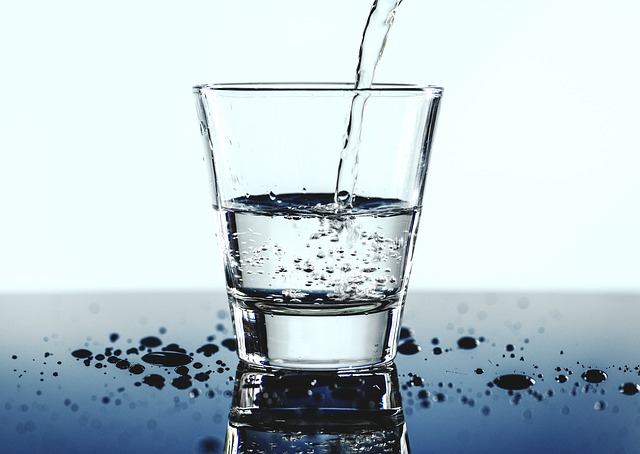 rozlitá voda