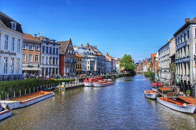 belgická řeka
