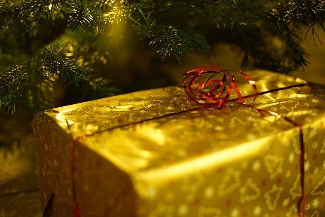 dárek pod stromeček