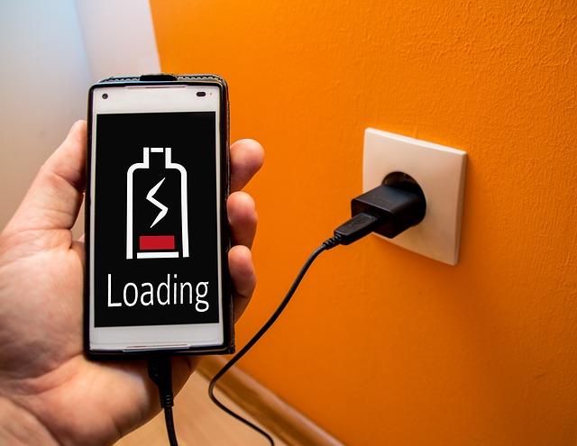 Nabíjení baterie