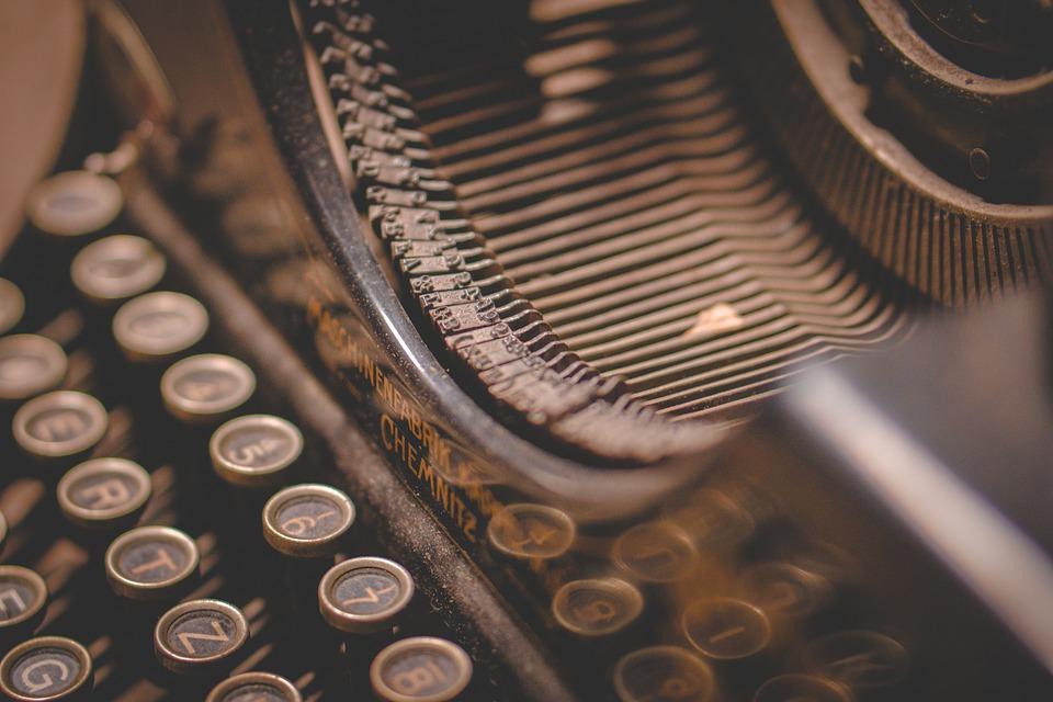 psací stro